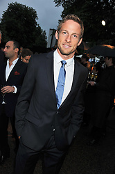 JENSON BUTTON at the annual Serpentine Gallery Summer Party sponsored by Burberry held at the Serpentine Gallery, Kensington Gardens, London on 28th June 2011.