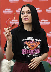 Jessie J is all smiles on her way to meet some of her fans at Cost Plus World Market at The Grove in Hollywood on Saturday. 03 Nov 2018 Pictured: Jessie J. Photo credit: GAC / MEGA TheMegaAgency.com +1 888 505 6342