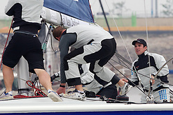Phil Robertson, WAKA Racing. Korea Match Cup 2010. World Match Racing Tour. Gyeonggi, Korea. 12th June 2010. Photo: Ian Roman/Subzero Images.