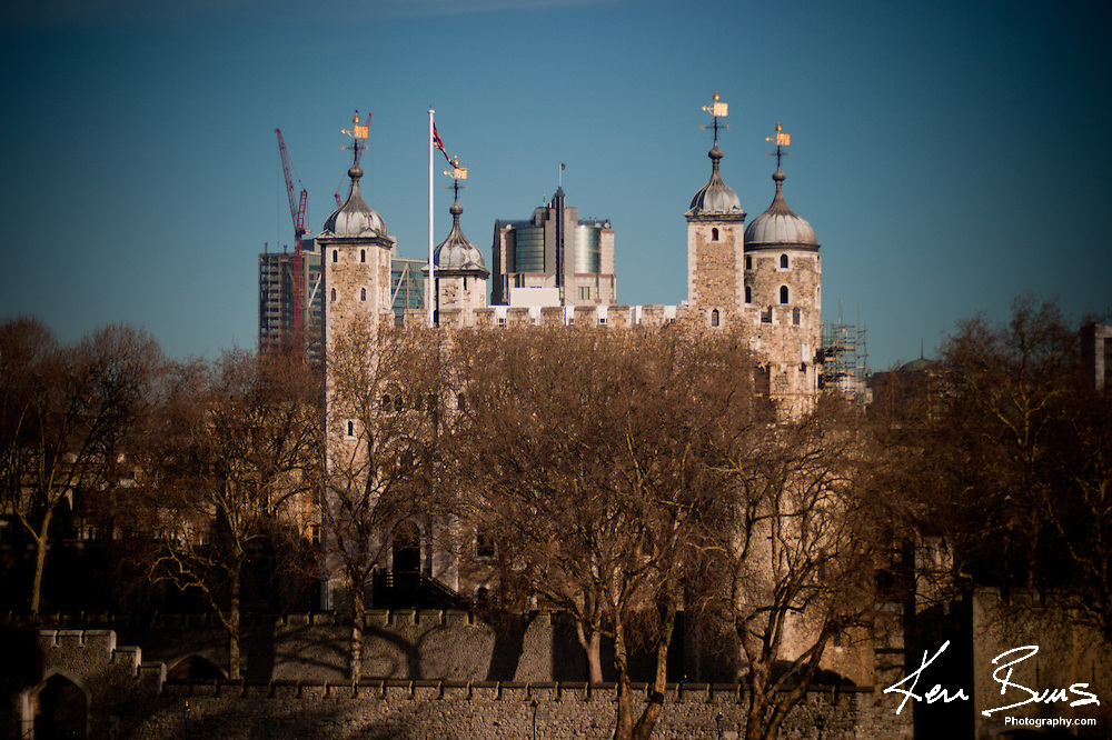 The Tower of London. Her Majesty's Royal Palace and Fortress is situated in the London Borough of Tower Hamlets.