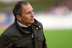 Head coach of Maribor Darko Milanic at 13th Round of Prva Liga football match between NK Olimpija and Maribor, on October 17, 2009, in ZAK Stadium, Ljubljana. Maribor won 1:0. (Photo by Vid Ponikvar / Sportida)