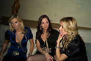 SIOBAN MAREUSE, CAMILLA PAUL AND MELISSA ODABASH, Dinner after the opening of Larry Clark. Los Angeles 2003- 2006. Simon Lee Gallery.  17 Berkeley st. London. 5 February 2008.  *** Local Caption *** -DO NOT ARCHIVE-© Copyright Photograph by Dafydd Jones. 248 Clapham Rd. London SW9 0PZ. Tel 0207 820 0771. www.dafjones.com.