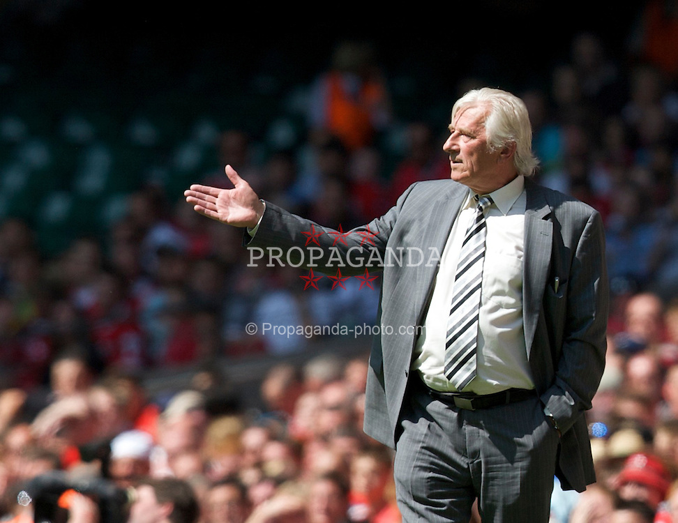Cardiff, Wales - Saturday, June 2, 2007: Czech Republic's head coach Karel Bruckner during the UEFA Euro 2008 Qualifying Group D match against Wales at the Millennium Stadium. (Pic by David Rawcliffe/Propaganda)