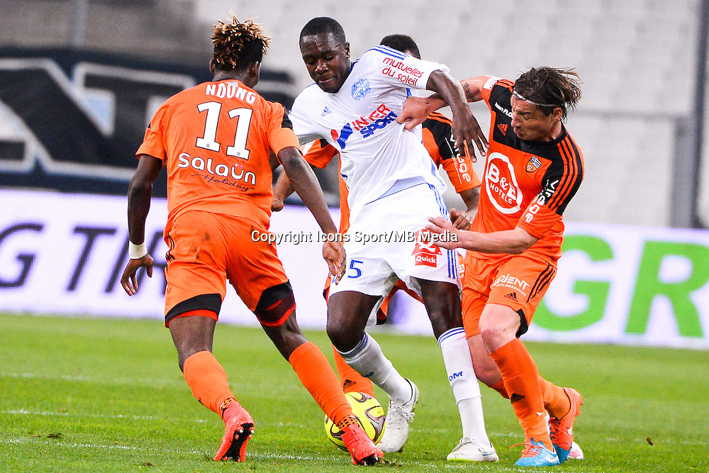Giannelli IMBULA - 24.04.2015 - Marseille / Lorient - 34eme journee de Ligue 1<br />