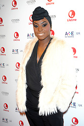 Launch of 'Lifetime'<br /> Laura Mvula attends the launch of new entertainment channel 'Lifetime' at One Marylebone, London, United Kingdom. Tuesday, 29th October 2013. Picture by Chris Joseph / i-Images