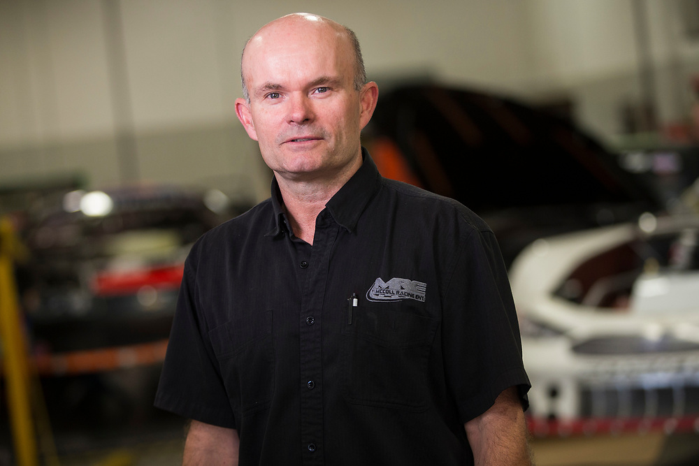 Mike McColl poses for a photo at McColl Racing Enterprises in London Ontario, Wednesday,  September 6, 2017.<br /> Business London/ Geoff Robins