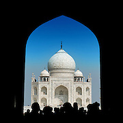 Taj Mahal at Agra of India