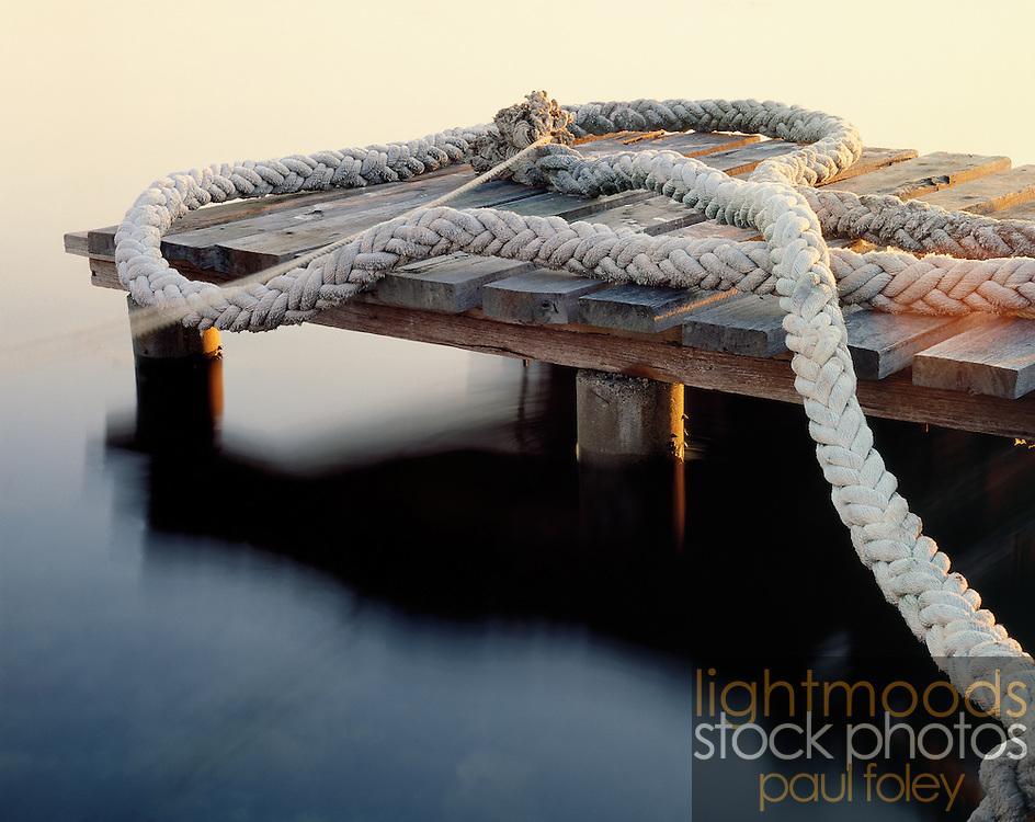 The Rope, Nords Wharf, Lake Macquarie, NSW, Australia