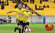 Wellington-Football, A-League, Phoenix v Melbourne Victory