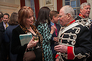 MARIAN WATERS; SGT. BOB RICHARDSON, Book launch for The Speedicut Papers, edited by Christopher Joll.- Bucks Club, Clifford St. London W1.