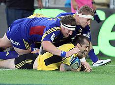 Dunedin-Rugby, Super, Highlanders v Hurricanes, March 15