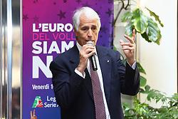 GIOVANNI MALAGO'<br /> CONFERENZA LEGA VOLLEY FEMMINILE SQUADRE ITALIANE PROTAGONISTE IN EUROPA<br /> FOTO FILIPPO RUBIN / LVF