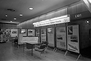 25/07/1967<br /> 07/25/1967<br /> 25 July 1967<br /> Shell stand at Dublin Port and Docks Centenary Exhibition at Liberty Hall, Dublin. A view of the stand that displayed images of the Shell and BP tanker fleets.