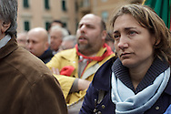 Ultimo saluto a don Andrea Gallo. Funerali. Genova, 25 maggio 2013.