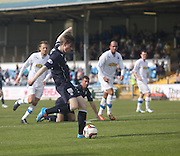 Craig Wighton drags his shot just wide - Greenock Morton v Dundee, SPFL Championship at Cappielow<br /> <br />  - &copy; David Young - www.davidyoungphoto.co.uk - email: davidyoungphoto@gmail.com