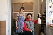 Les artistes Ella & Pitr chez eux à Saint-Etienne