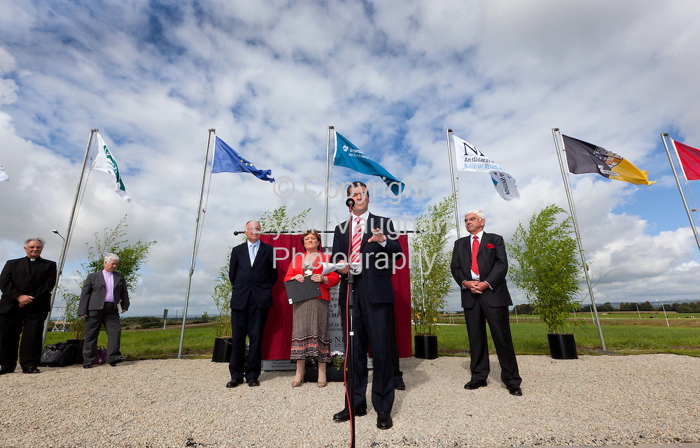 8/9/2010.The Minister for Transport Noel Dempsey T.D pictured at the official opening of the M9 motorway from Carlow to Knocktopher yesterday ..Picture Dylan Vaughan..