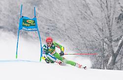 Zan Kranjec of Slovenia during 1st run of Men's Giant Slalom race of FIS Alpine Ski World Cup 57th Vitranc Cup 2018, on 3.3.2018 in Podkoren, Kranjska gora, Slovenia. Photo by Urban Meglič / Sportida