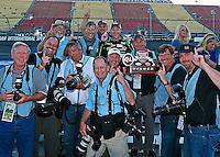 17 June 2012: Dale Earnhardt Jr wins the Quicken Loans 400 at Michigan International Speedway in Brooklyn MI. (HHP/Harold Hinson)