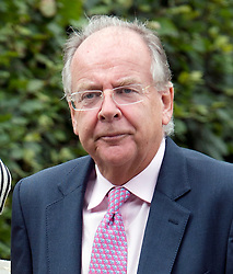 © London News Pictures. 14/09/2013.  Lord Falconer and his wife Marianna arriving for the wedding of Euan Blair, Son of former British Prime Minister Tony Blair,  to Suzanne Ashman at All Saints Parish Church in Wotton Underwood, Buckinghamshire. The wedding was attended by Former British Prime minister Tony Blair and his wife Cherie Blair. Photo credit: Ben Cawthra/LNP