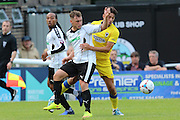 AFC Wimbledon defender Will Nightingale (5)  during the Pre-Season Friendly match between Dover Athletic and AFC Wimbledon at Crabble Athletic Ground, Dover, United Kingdom on 12 July 2016. Photo by Stuart Butcher.