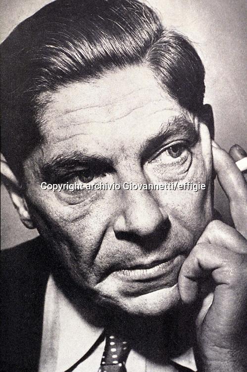 Arthur Koestler <br />archivio Giovannetti/effigie
