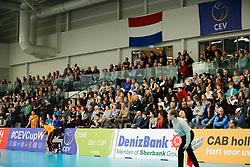 20180110 NED: CEV CUP Sliedrecht Sport - Beziers Angels VB: Sliedrecht<br />Full stands, Sporthal De Basis - Sliedrecht <br />&copy;2018-FotoHoogendoorn.nl / Pim Waslander