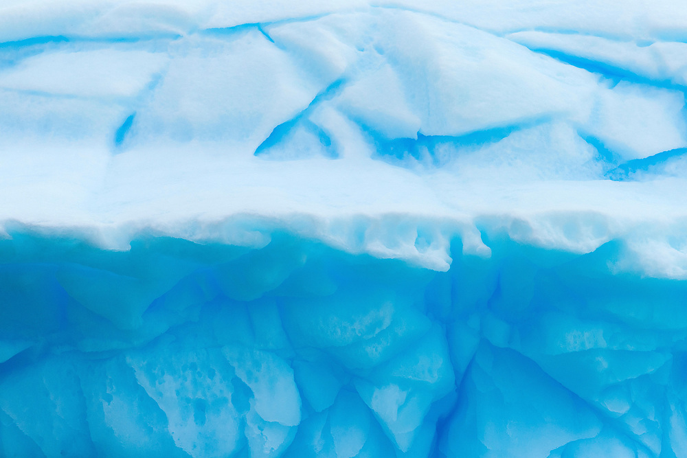 Detail view of an iceberg on Wednesday, Feb. 7, 2018 in Brown Bluff, Antartica. (Photo by Ric Tapia)