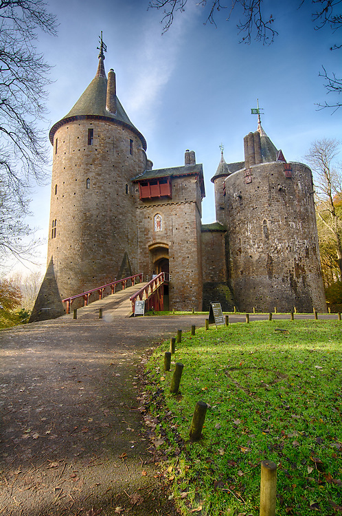 Castell Coch fairytale castle