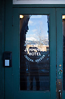 Jennings Hotel in Joseph, Oregon.