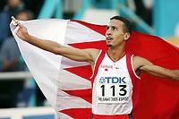 Friidrett, 14. august 2005, VM Helsinki, <br /> World Championships in Athletics<br /> Rashid Ramzi, BRN, winner 800 metres