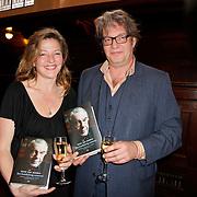 NLD/Amsterdam/20120309 - Boekpresentatie Een Krankzinnig Avontuur van Hans van Mierlo, Olivier  van Mierlo en zus Stanja van Mierlo met  het  boek