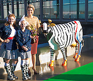13-11-2014 - WESTBEEMSTER -  Queen Maxima opens Thursday morning November 13, 2014 the new building of CONO cheesemakers in Westbeemster. The new dairy is sustainability. COPYRIGHT ROBIN UTRECHT