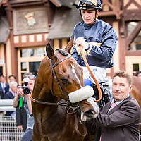 Sings of Blessing (S. Pasquier) wins Gr. 3 Prix de Saint-Georges 13/05/2017 in Deauville, France, photo: Zuzanna Lupa / Racingfotos.com