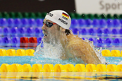 21.08.2014, Europa Sportpark, Berlin, GER, LEN, Schwimm EM 2014, im Bild Marko Koch (Deutschland) // during the LEN 2014 European Swimming Championships at the Europa Sportpark in Berlin, Germany on 2014/08/21. EXPA Pictures © 2014, PhotoCredit: EXPA/ Eibner-Pressefoto/ Lau<br /> <br /> *****ATTENTION - OUT of GER*****