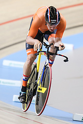March 4, 2018 - Apeldoorn, Netherlands - Theo Bos (NED) - Men's 1km time trial .during UCI Track Cycling World Championships Apeldoorn 2018, in Apeldoorn, Netherlands, on March 4, 2018. (Credit Image: © Foto Olimpik/NurPhoto via ZUMA Press)