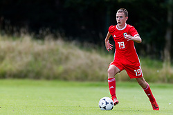 WREXHAM, WALES - Thursday, August 15, 2019: Wales' Luke Harris during the UEFA Under-15's Development Tournament match between Wales and Northern Ireland at Colliers Park. (Pic by Paul Greenwood/Propaganda) Jamie Donley