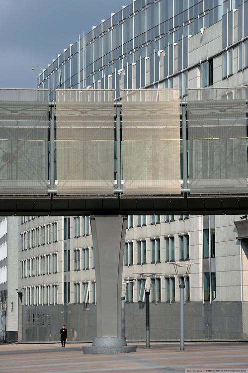 Brussels, Belgium, Mar 02, 2009, Espace Léopold D4/D5, ©Christophe Vander Eecken