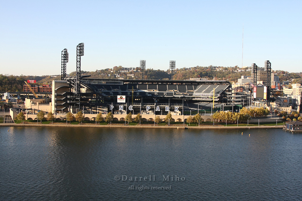 Midwest tour.  Pittsburgh, PA - PNC Park along the Alleghany River...Photo credit: Darrell Miho