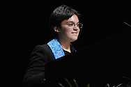 Synergy - Bridging.Youngest speaker.© 2012 Nancy Pierce/UUA