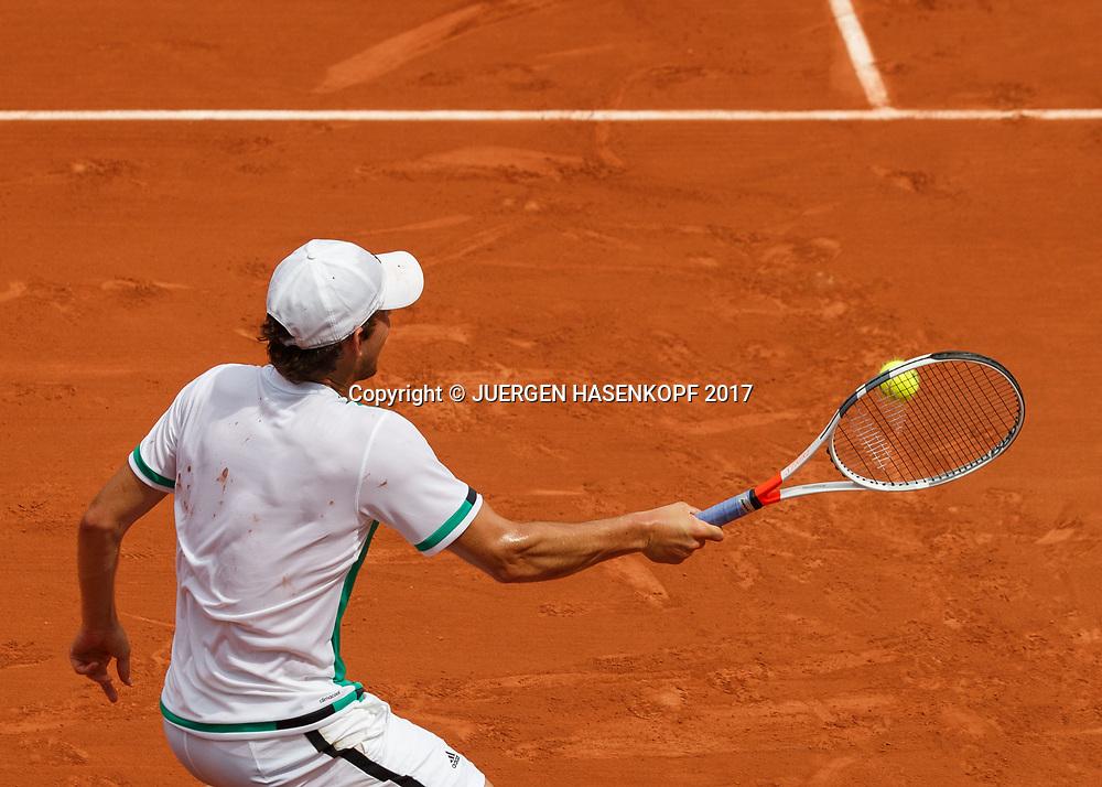 DOMINIC THIEM (AUT))<br /> <br /> Tennis - French Open 2017 - Grand Slam ATP / WTA -  Roland Garros - Paris -  - France  - 31 May 2017.
