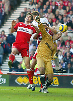 7/11/2004 - FA Barclayship Premiership - Middlesbrough v Bolton Wanderers - The Riverside Stadium<br />