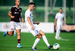 Dušan Stojinović of Celje during football match between NK Triglav and NK Celje in 7th Round of Prva liga Telekom Slovenije 2019/20, on August 25, 2019 in Sports park, Kranj, Slovenia. Photo by Vid Ponikvar / Sportida