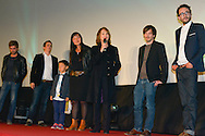 Cast Film Prejudice during the Opening Ceremony of the Festival International of Film Francophone in Namur in Belgium.  2 october 2015, Namur, Belgium
