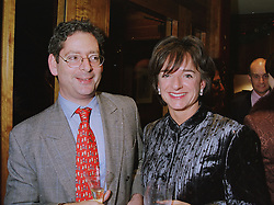 The HON.DOMINIC & the HON.ROSA LAWSON, she was a good friend of Diana, Princess of Wales, at a party in London on 4th December 1997.MEB 29