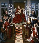 La Virgen de los Reyes Católicos artist unknown)