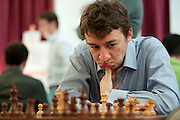 Luke J. McShane from England during European Team Chess Championships 2013 at Novotel Hotel in Warsaw on November 10, 2013.<br /> <br /> Poland, Warsaw, November 10, 2013<br /> <br /> Picture also available in RAW (NEF) or TIFF format on special request.<br /> <br /> For editorial use only. Any commercial or promotional use requires permission.<br /> <br /> Mandatory credit:<br /> Photo by &copy; Adam Nurkiewicz / Mediasport