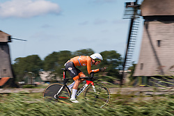KRUL Wessel from NETHERLANDS during Men Under 23 Time Trial at 2019 UEC European Road Championships, Alkmaar, The Netherlands, 8 August 2019. <br /> <br /> Photo by Pim Nijland / PelotonPhotos.com <br /> <br /> All photos usage must carry mandatory copyright credit (Peloton Photos | Pim Nijland)