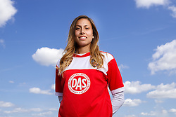 Evdokia Popadinova poses for a portrait - Mandatory byline: Rogan Thomson/JMP - 07966 386802 - 09/07/2015 - SPORT - Football - Bristol, England - SGS Wise Campus, Filton - Bristol Academy Womens FC New Signings.