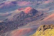 Levé du Soleil au sommet du volcan Haleakalā  Sunrize on top of Haleakalā volcano